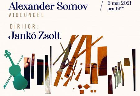 Filarmonica Brasov - Concert Simfonic Alexander Somov - afis